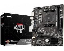 Материнська плата MSI A520M-A PRO