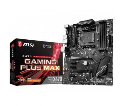 Материнська плата MSI X470 GAMING PLUS MAX