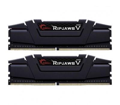 Модуль памяти для компьютера DDR4 16GB (2x8GB) 2800 MHz RipjawsV Gray G.Skill (F4-2800C16D-16GVG)