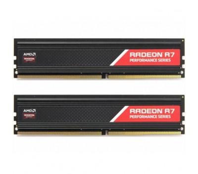 Модуль пам'яті для комп'ютера DDR4 16GB (2x8GB) 2400 MHz Radeon R7 AMD (R7S416G2400U2K)