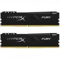 Модуль пам'яті для комп'ютера DDR4 16GB (2x8GB) 3600 MHz HyperX Fury Black Kingston (HX436C17FB3K2/16)