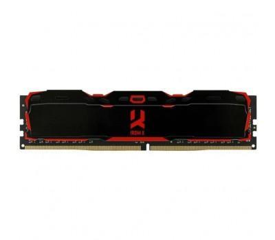 Модуль памяти для компьютера DDR4 8GB 3200 MHz Iridium Black GOODRAM (IR-X3200D464L16S/8G)
