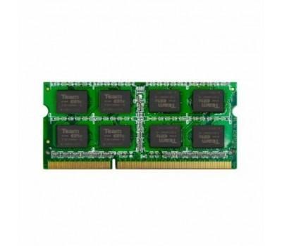 Модуль пам'яті для ноутбука SoDIMM DDR3 4GB 1333 MHz Team (TED34GM1333C9-S01/ TED34G1333C9-S01 /SBK)