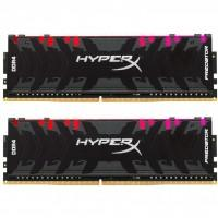 Модуль памяти для компьютера DDR4 32GB (2x16GB) 3200 MHz HyperX Predator RGB Kingston (HX432C16PB3AK2/32)