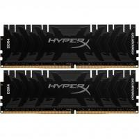 Модуль памяти для компьютера DDR4 32GB (2x16GB) 3200 MHz HyperX Predator Black Kingston (HX432C16PB3K2/32)