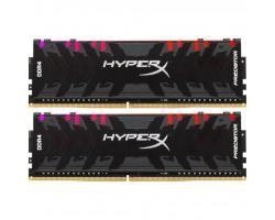 Модуль пам'яті для комп'ютера DDR4 16GB (2x8GB) 3600 MHz HyperX Predator RGB Kingston (HX436C17PB4AK2/16)