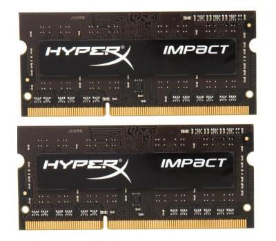 Модуль памяти для ноутбука SoDIMM DDR3L 8GB (2x4GB) 1866 MHz Kingston (HX318LS11IBK2/8)