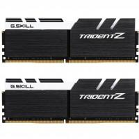 Модуль пам'яті для комп'ютера DDR4 16GB (2x8GB) 3200 MHz Trident Z Black H/White G.Skill (F4-3200C16D-16GTZKW)