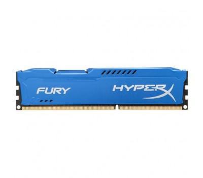 Модуль пам'яті для комп'ютера DDR3 8Gb 1600 MHz HyperX Fury Blu Kingston (HX316C10F/8)