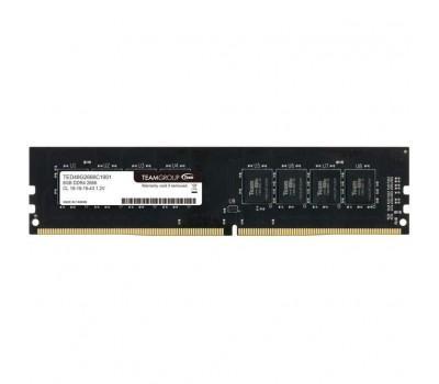 Модуль пам'яті для комп'ютера DDR4 8GB 2666 MHz Elite Team (TED48G2666C1901)