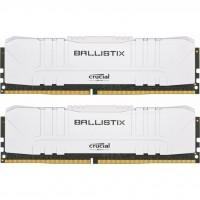 Модуль пам'яті для комп'ютера DDR4 16GB (2x8GB) 3200 MHz Ballistix White MICRON (BL2K8G32C16U4W)