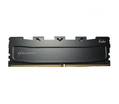 Модуль пам'яті для комп'ютера DDR3L 8GB 1600 MHz Black Kudos eXceleram (EKBLACK3081611LA)