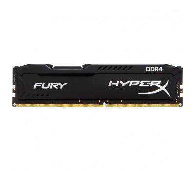 Модуль памяти для компьютера DDR4 4GB 2400 MHz Fury Black Kingston (HX424C15FB/4)
