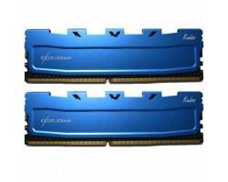 Модуль пам'яті для комп'ютера DDR3 16GB (2x8GB) 1600 MHz Blue Kudos eXceleram (EKBLUE3161611AD)