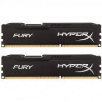 Модуль памяти для компьютера DDR3 8Gb (2x4GB) 1866 MHz HyperX Fury Black Kingston (HX318C10FBK2/8)