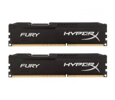 Модуль пам'яті для комп'ютера DDR3 8Gb (2x4GB) 1866 MHz HyperX Fury Black Kingston (HX318C10FBK2/8)