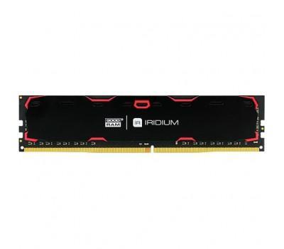Модуль памяти для компьютера DDR4 8GB 2400 MHz Iridium Black GOODRAM (IR-2400D464L17S/8G)