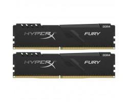 Модуль пам'яті для комп'ютера DDR4 64GB (2x32GB) 2666 MHz HyperX Fury Black Kingston (HX426C16FB3K2/64)