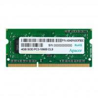Модуль памяти для ноутбука SoDIMM DDR3 4GB 1333 MHz Apacer (DS.04G2J.K9M)
