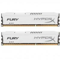 Модуль памяти для компьютера DDR3 16Gb (2x8GB) 1866 MHz HyperX Fury White Kingston (HX318C10FWK2/16)