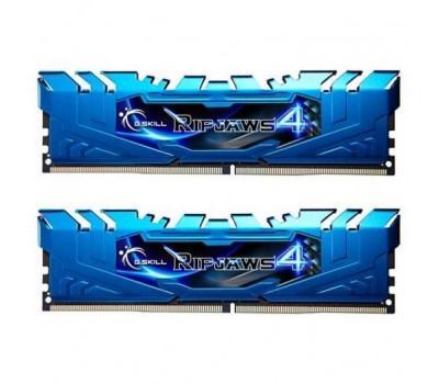 Модуль пам'яті для комп'ютера DDR4 16GB (2x8GB) 3000 MHz Ripjaws4 G.Skill (F4-3000C15D-16GRBB)