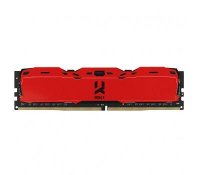 Модуль пам'яті для комп'ютера DDR4 8GB 3000 MHz IRDM Red GOODRAM (IR-XR3000D464L16S/8G)