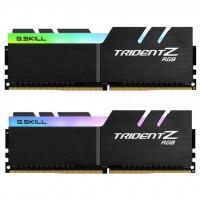 Модуль пам'яті для комп'ютера DDR4 32GB (2x16GB) 3200 MHz TridentZ RGB Black G.Skill (F4-3200C16D-32GTZR)