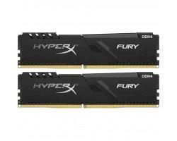 Модуль пам'яті для комп'ютера DDR4 16GB (2x8GB) 3200 MHz HyperX FURY Black Kingston (HX432C16FB3K2/16)