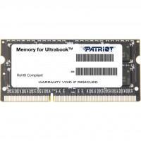 Модуль пам'яті для ноутбука SoDIMM DDR3L 4GB 1600 MHz Patriot (PSD34G1600L2S)
