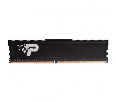 Модуль пам'яті для комп'ютера DDR4 16GB 2666MHz Signature Premium Patriot (PSP416G26662H1)