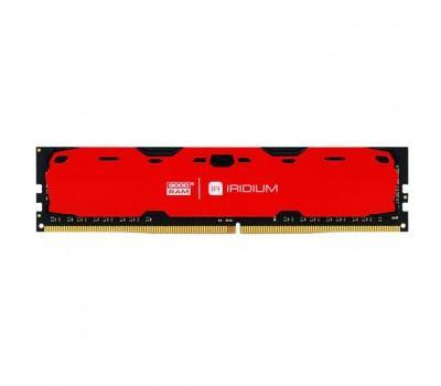 Модуль памяти для компьютера DDR4 4GB 2400 MHz Iridium Red GOODRAM (IR-R2400D464L15S/4G)