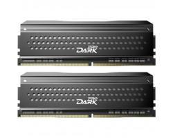 Модуль пам'яті для комп'ютера DDR4 16GB (2x8GB) 3200 MHz Dark Pro Black/Gray Team (TDPGD416G3200HC14ADC01)