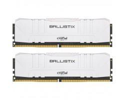 Модуль памяти для компьютера DDR4 32GB (2x16GB) 2666 MHz Ballistix White MICRON (BL2K16G26C16U4W)