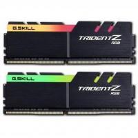 Модуль пам'яті для комп'ютера DDR4 16GB (2x8GB) 3600 MHz TridentZ RGB Black G.Skill (F4-3600C19D-16GTZRB)