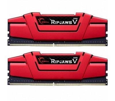 Модуль пам'яті для комп'ютера DDR4 16GB (2x8GB) 3000 MHz RipjawsV Red G.Skill (F4-3000C16D-16GVRB)