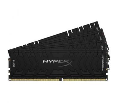 Модуль пам'яті для комп'ютера DDR4 4x32GB/3200 Kingston HyperX Predator Black (HX432C16PB3K4/128)