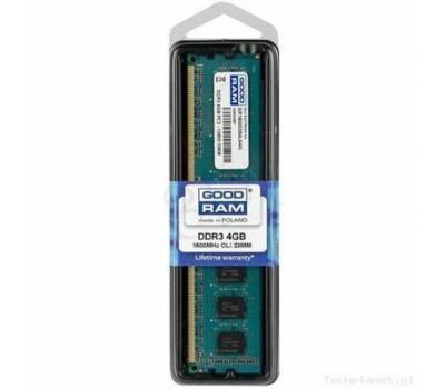 Модуль пам'яті для комп'ютера DDR3 4GB 1600 MHz GOODRAM (GR1600D364L11S/4G)