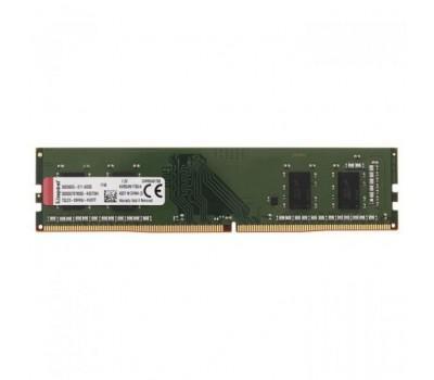 Модуль пам'яті для комп'ютера DDR4 4GB 2400 MHz Kingston (KVR24N17S6/4)