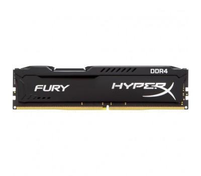 Модуль пам'яті для комп'ютера DDR4 16GB 2666 MHz HyperX Fury Black Kingston (HX426C16FB/16)