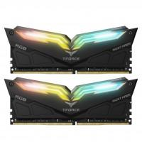 Модуль пам'яті для комп'ютера DDR4 32GB (2x16GB) 3200 MHz T-Force Night Hawk RGB Black Team (TF1D432G3200HC16CDC01)