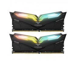 Модуль пам'яті для комп'ютера DDR4 32GB (2x16GB) 3200 MHz T-Force Night Hawk RGB Black Team (TF1D432G3200HC16CDC01)