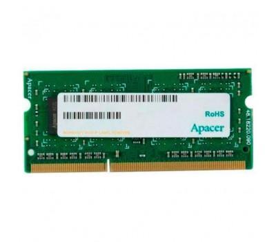 Модуль пам'яті для ноутбука SoDIMM DDR3 2GB 1600 MHZ Apacer (DS.02G2K.HAM)