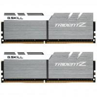 Модуль пам'яті для комп'ютера DDR4 16GB (2x8GB) 3200 MHz Trident Z Silver H/ White G.Skill (F4-3200C16D-16GTZSW)