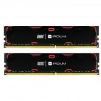 Модуль пам'яті для комп'ютера DDR4 32GB (2x16GB) 2400 MHz Iridium Black GOODRAM (IR-2400D464L17/32GDC)