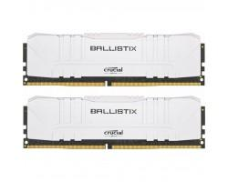 Модуль памяти для компьютера DDR4 16GB (2x8GB) 2666 MHz Ballistix White MICRON (BL2K8G26C16U4W)