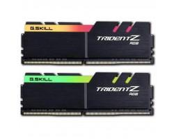 Модуль пам'яті для комп'ютера DDR4 16GB (2x8GB) 3600 MHz TridentZ RGB Black G.Skill (F4-3600C18D-16GTZR)
