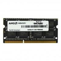 Модуль памяти для ноутбука SoDIMM DDR3 4GB 1600MHz AMD (R534G1601S1S-U)