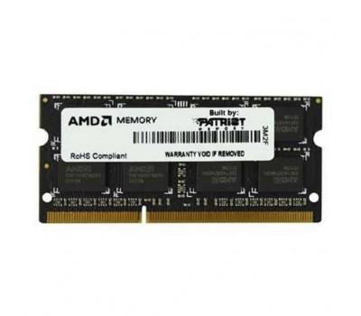 Модуль пам'яті для ноутбука SoDIMM DDR3 4GB 1600MHz AMD (R534G1601S1S-U)