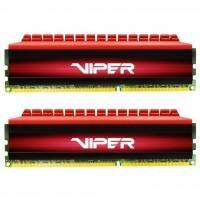 Модуль пам'яті для комп'ютера DDR4 8GB (2x4GB) 3000 MHz Viper 4 Patriot (PV48G300C6K)