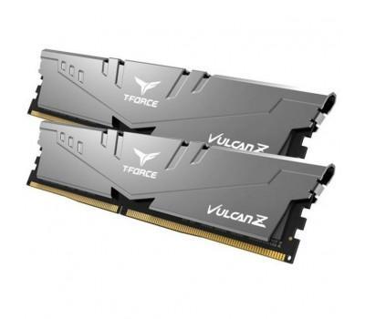 Модуль пам'яті для комп'ютера DDR4 16GB (2x8GB) 3200 MHz T-Force Vulcan Z Gray Team (TLZGD416G3200HC16CDC01)